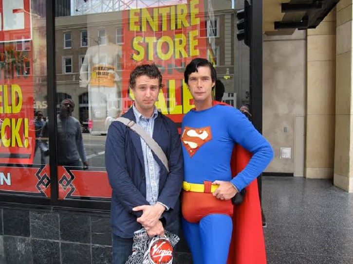 Christopher Dennis, Who Entertained Audiences As Superman At Hollywood Boulevard, Passes Away
