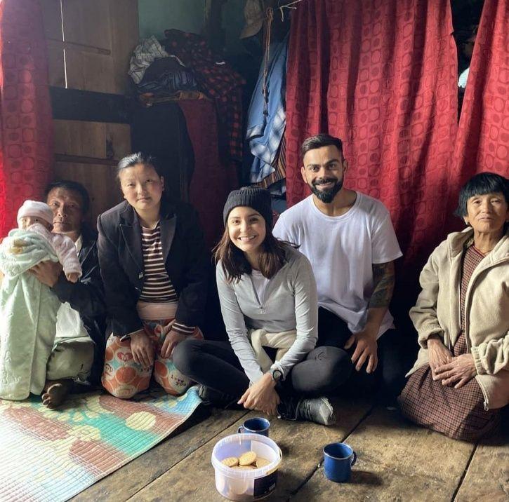 'Coffee Drinker' Anushka Sharma Enjoys Tea In Bhutan With Husband Virat Kohli, Gets Trolled!