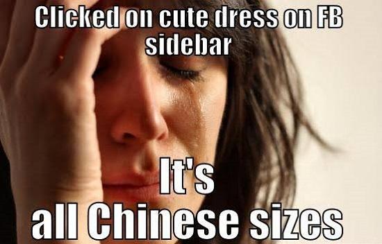 Curvy girl problems