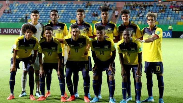Ecuador are playing in the FIFA Under-17 World Cup