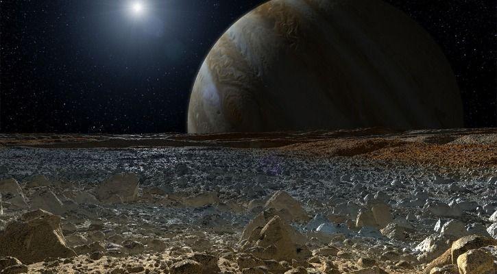 Europa water