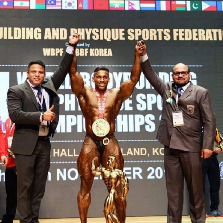 Kerala Man, Mr Universe, India, Physique Sports Championship