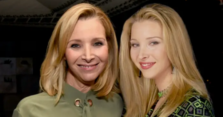 Lisa Kudrow: Celebrities With Their Younger Selves