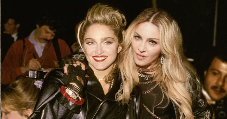 Madonna: Celebrities With Their Younger Selves