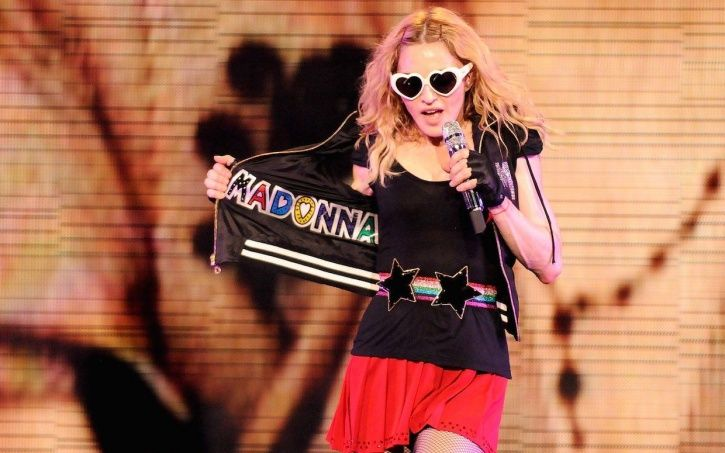 Madonna drinks her own pee.
