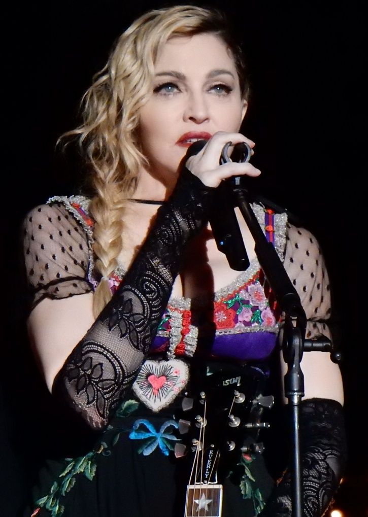Madonna drinks her own urine