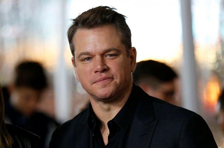 Matt Damon Says He