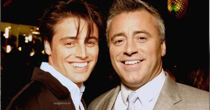 Matthew Perry: Celebrities With Their Younger Selves