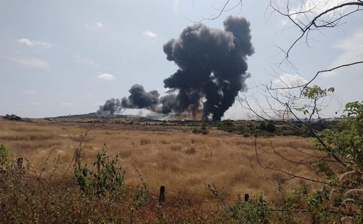 MiG-29K Fighter Aircraft Crashes In Goa