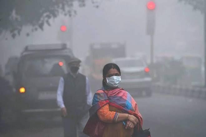 pollution, school, mask, delhi pollution, air pollutants