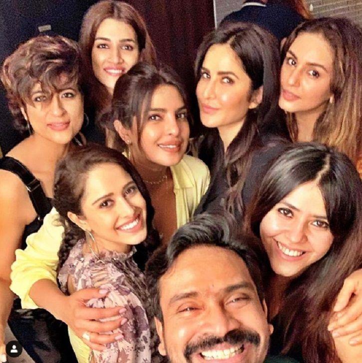Priyanka Chopra, Katrina Kaif and Vaani Kapoor at Rohini Iyer