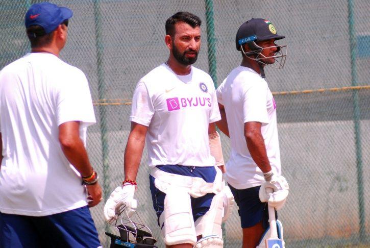 Pujara test practice vs bangladesh
