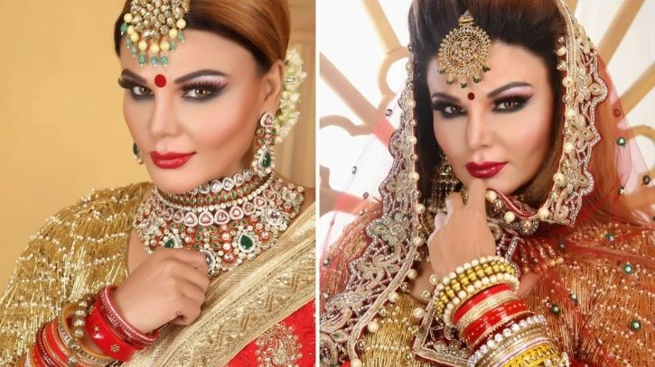 Rakhi Sawant wedding photos.