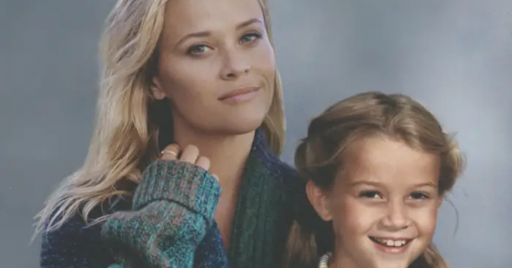 Reese Witherspoon: Celebrities With Their Younger Selves