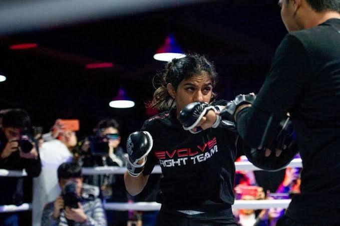 Ritu Phogat has won her first MMA fight
