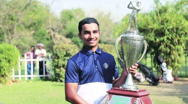 Shubham Jaglan, The Son Of A Milkman Who Practiced Watching YouTube To Win  Junior World Golf Championships