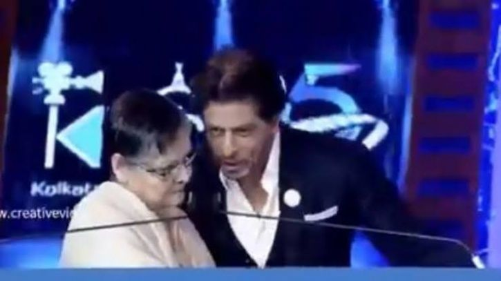 SRK Says Movie Dialogue At KIFF As