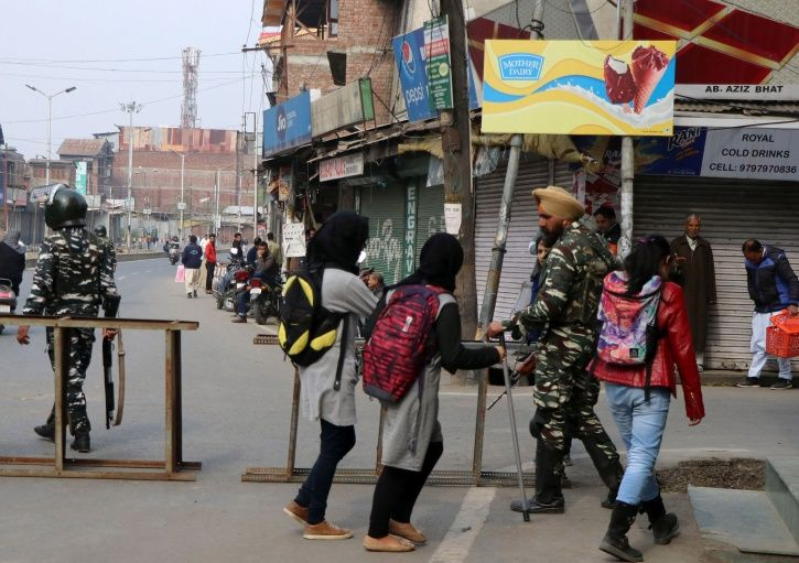 Unrest Intesifies As Terrorists Burn Down A Govt School In Kashmir Ahead Of Board Exams Starting Tod