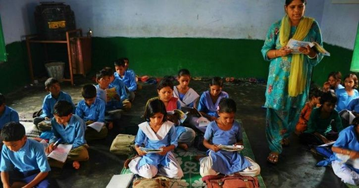 After Roti-Salt Debacle, UP Govt Distributes Poor Quality Bags & Shoes To School Children