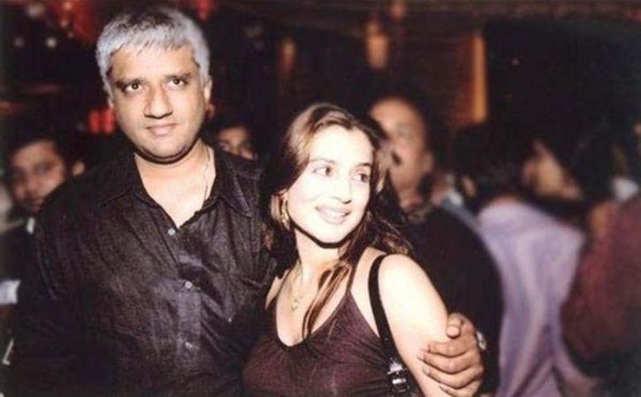 Ameesha Patel and Vikram Bhatt.
