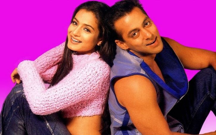 Ameesha Patel with Salman Khan in Yeh Hai Jalwaa.