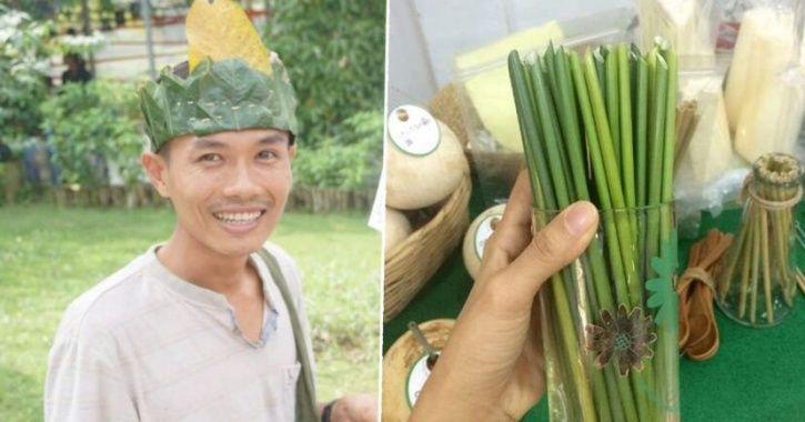 bamboo bottle
