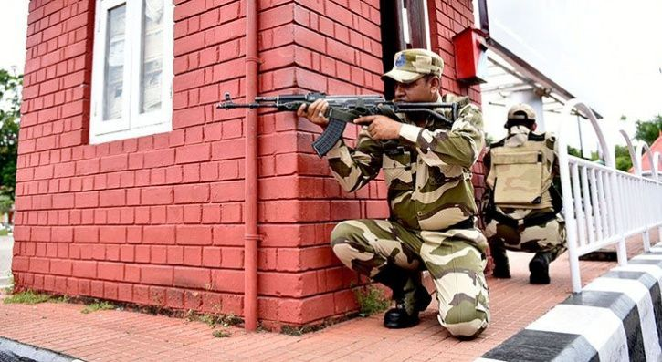 Bangladeshi Border Guards Opened Fire At A Border Security Force