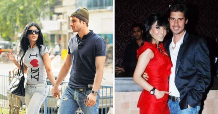 Bigg Boss 13: Koena Mitra with her Turkish boyfriend Mete Meral.