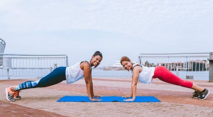 Chakravakasana yoga pose
