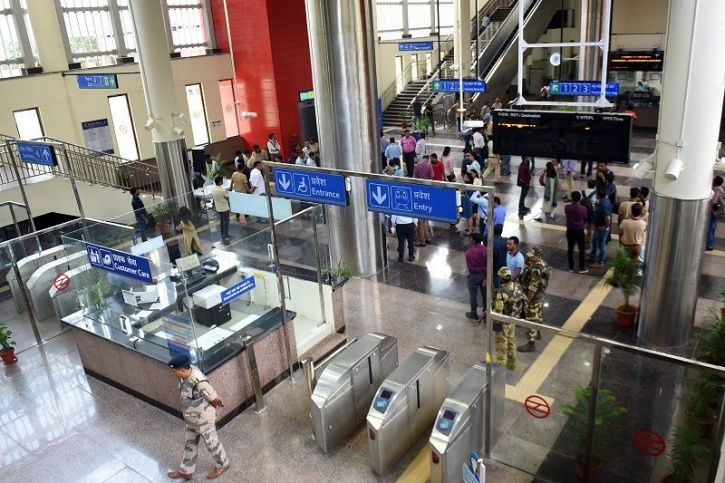 Delhi Metro Smart Card Biometric, Metro Card Biometric Link, Metro Card Integration, Metro Smart Car