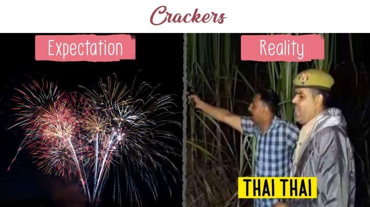 diwali expectation vs reality