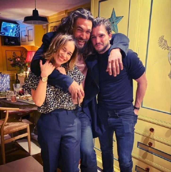 Emilia Clarke Rings In Her Birthday With An Epic GoT Reunion That Had Both Her On-Screen Lovers