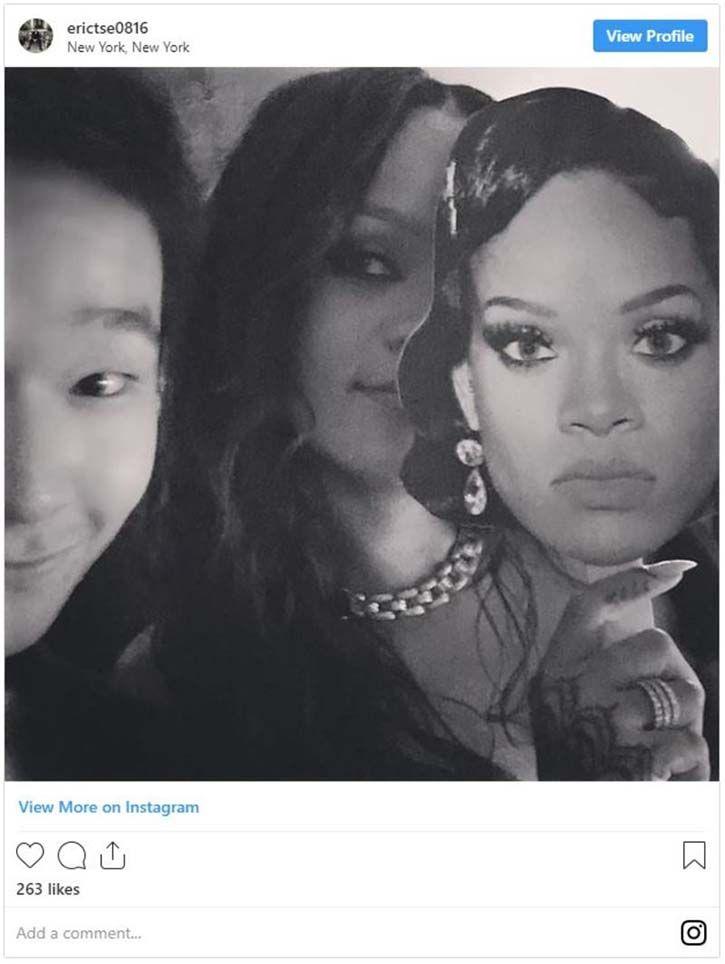 Eric Tse Rihanna