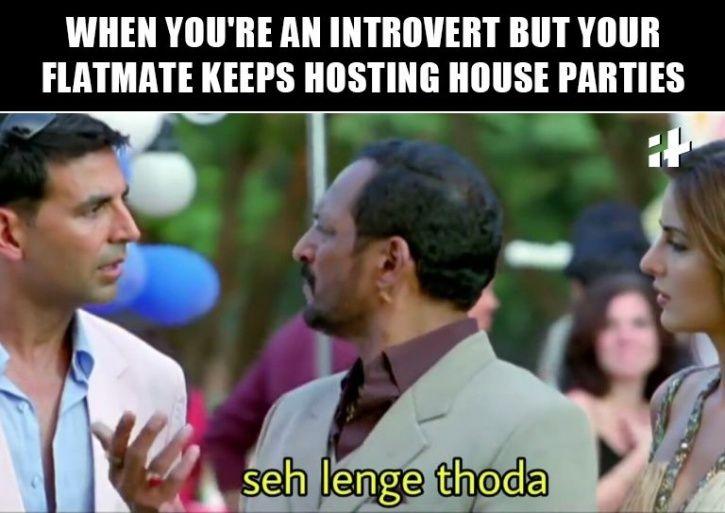 Flatmate meme