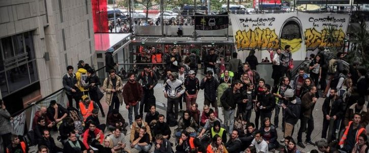 Global Extinction Rebellion Protests Begin As Hundreds Of Climate Activists Occupy Paris Mall