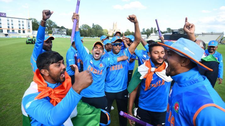 India won the T20 Physical Disability World Series Championship in England
