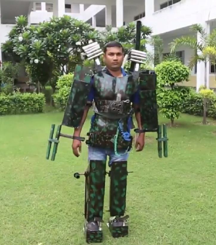Indian Man Designs Iron Man-Inspired Suit, People Call Him 'Sasta Tony Stark'