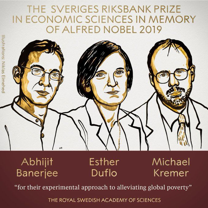 Indian-American Abhijit Banerjee, Esther Duflo and Michael Kremer Win Nobel Price For Economics