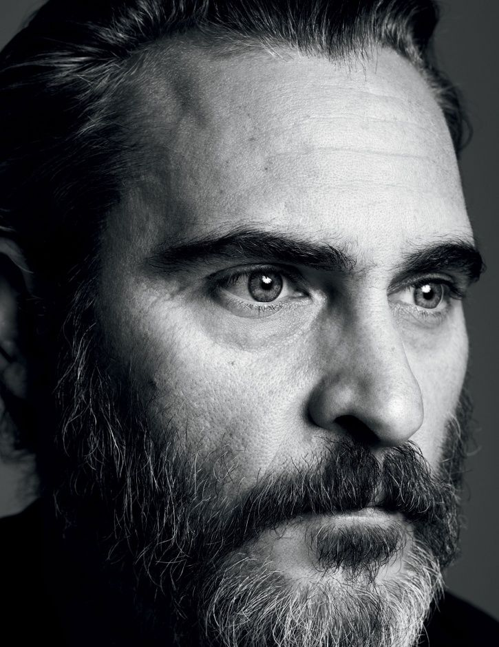 Joaquin Phoenix had apparently misjudged a right turn he was making.