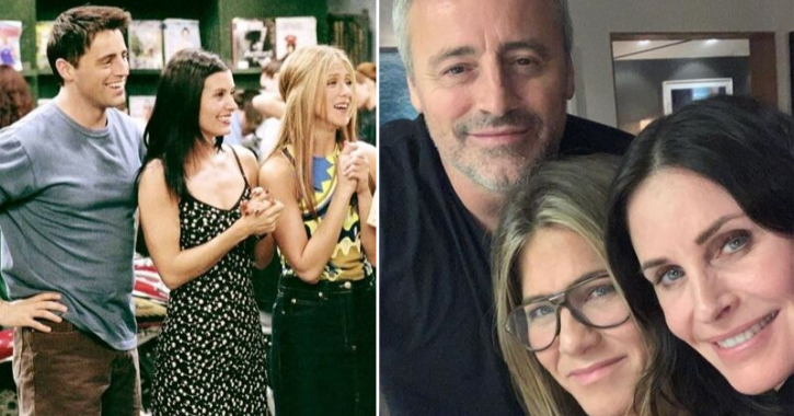 Joey, Monica And Rachel Share Selfie From Their Mini FRIENDS Reunion & It's Making Us Nostalgic