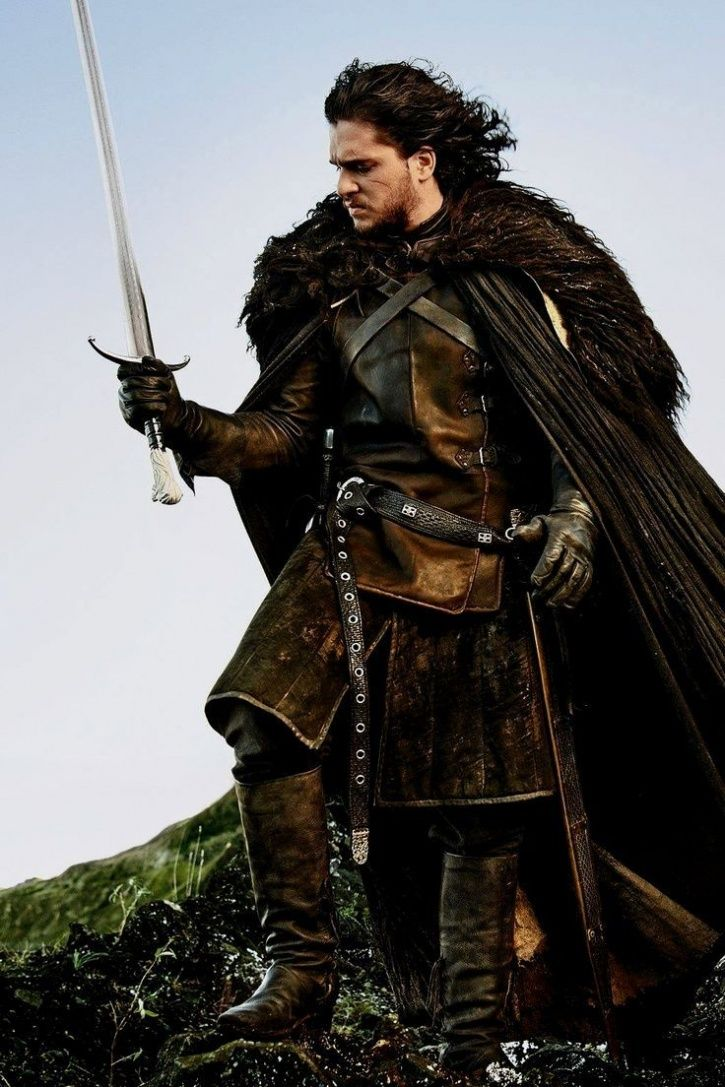 Kit Harington as Jon Snow.