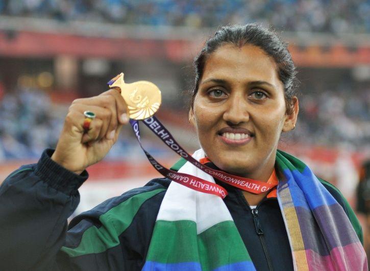 Krishna Poonia won CWG gold