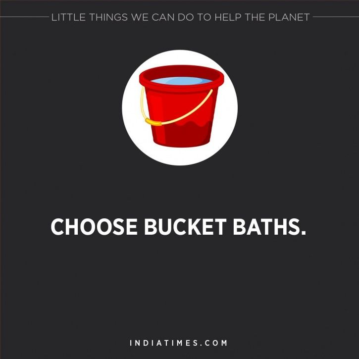 Little things we can do to help the planet