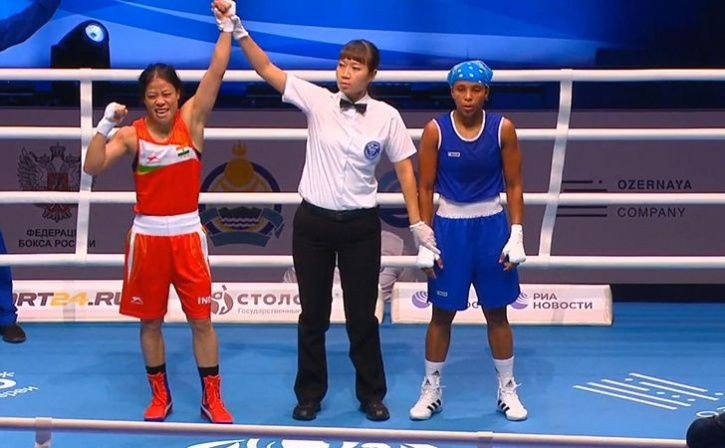 Mary Kom Punches Her Way Into Semis