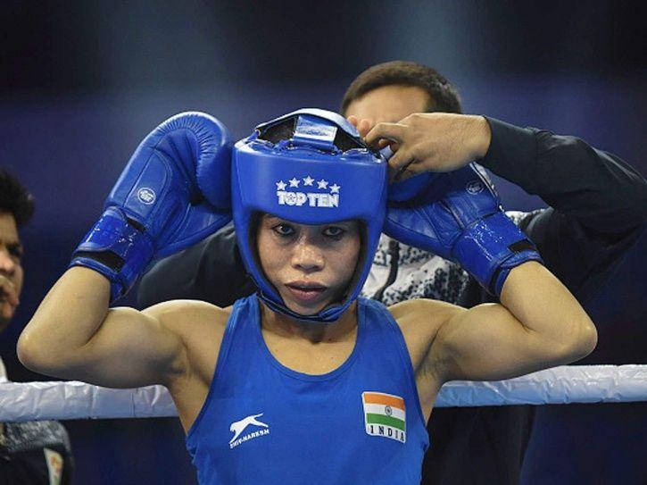 Mary Kom won bronze