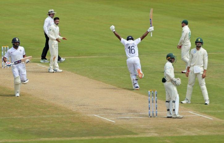 Mayank Agarwal made 200