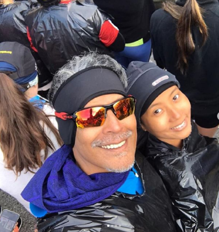 Milind Soman and Ankita Konwar ran for the Chicago Marathon.