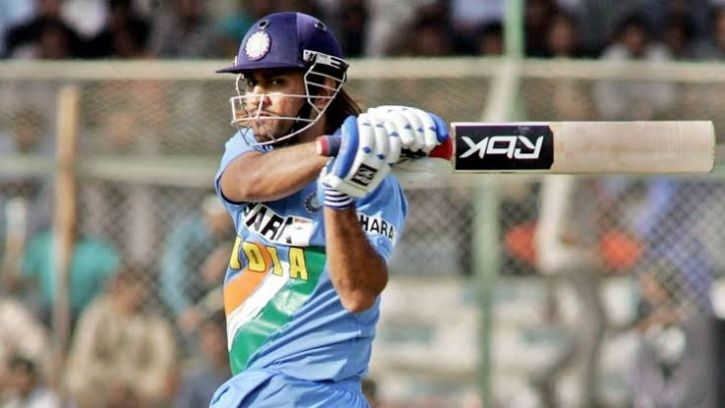 MS Dhoni made 183 not out