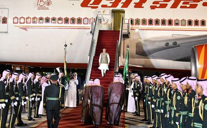 Narendra Modi In Saudi Arabia