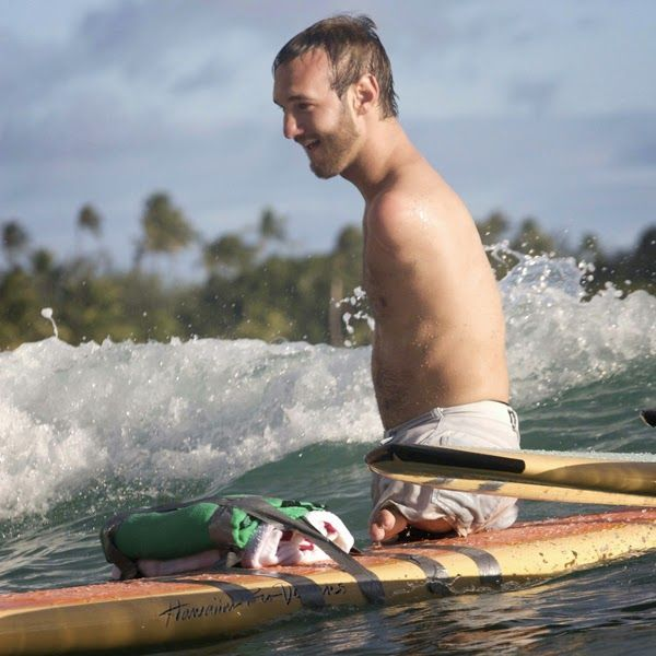 Nick Vujicic is an inspiration
